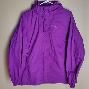 Women's Purple Marmot Rain Shell Size L